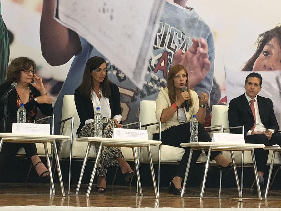 GEMA en seminario internacional sobre buenas prácticas educativas (México, Sep-UNICEF 2017)