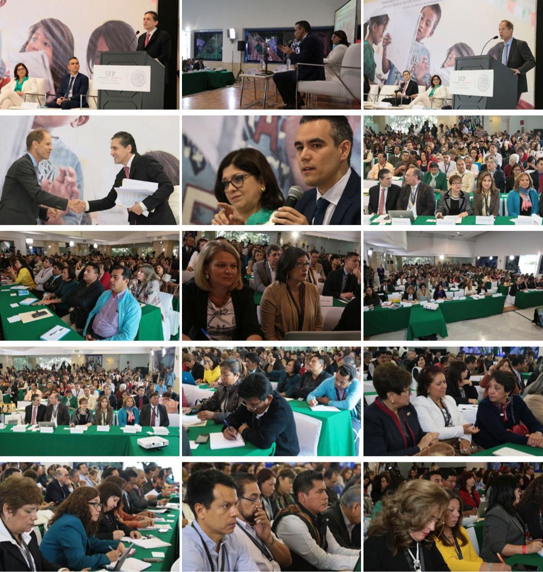SEP y UNICEF llevan a cabo el Seminario Internacional sobre buenas prácticas educativas ante el riesgo de exclusión de niñas, niños y adolescentes